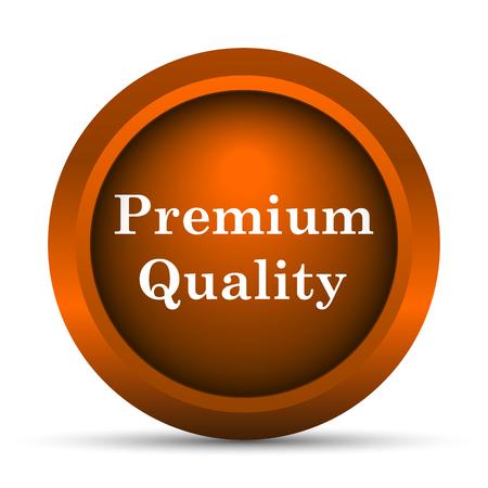 selected: Premium quality icon. Internet button on white background. Stock Photo