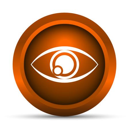 optician: Eye icon. Internet button on white background.