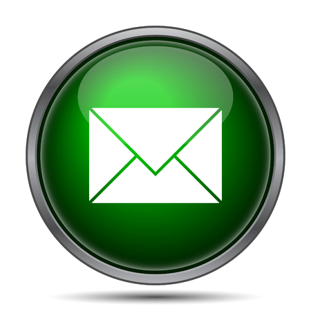 contact information: E-mail icon. Internet button on white background.