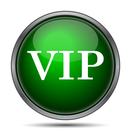 vip symbol: VIP icon. Internet button on white background. Stock Photo