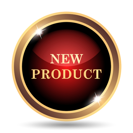 product icon: New product icon. Internet button on white background.