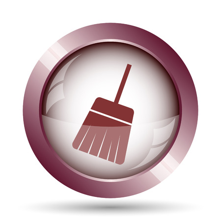 sweep: Sweep icon. Internet button on white background.