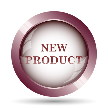 office product: New product icon. Internet button on white background.