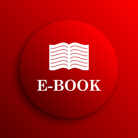 audiobook: E-book icon. Internet button on white background.