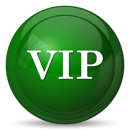 is magnificent: VIP icon. Internet button on white background. Stock Photo