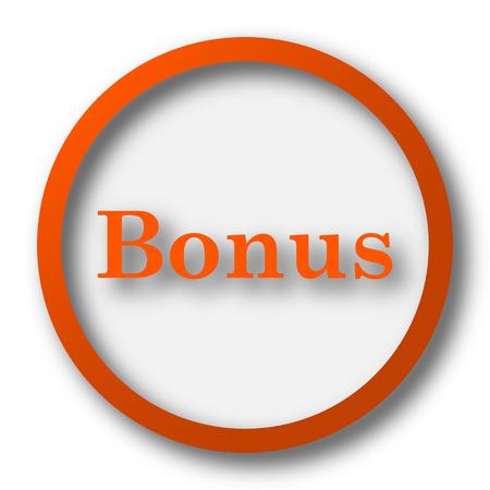 bonus: Bonus icon. Internet button on white background.