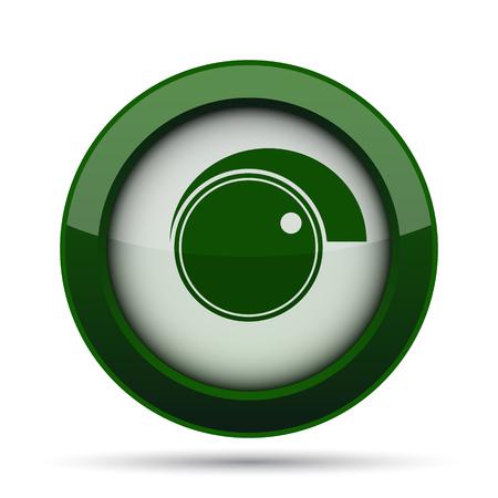 volume control: Volume control icon. Internet button on white background.