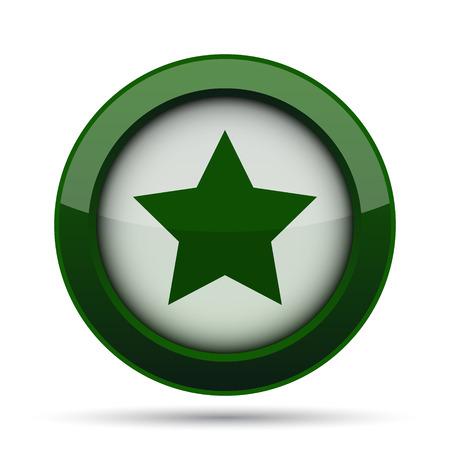 preference: Favorite  icon. Internet button on white background. Stock Photo