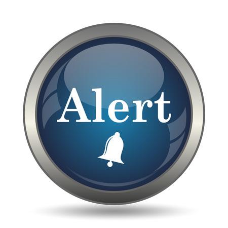 jeopardy: Alert icon. Internet button on white background.