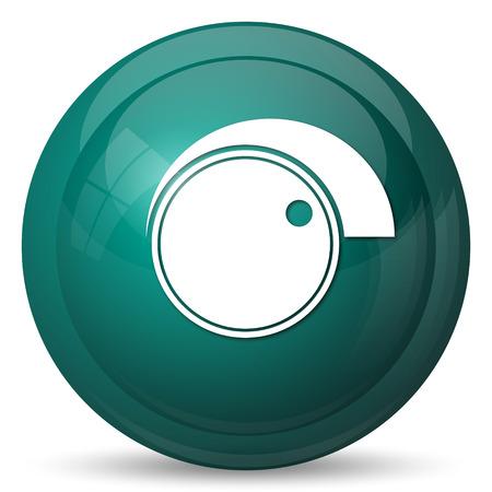 volume: Volume control icon. Internet button on white background.