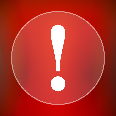 precautions: Attention icon. Internet button on red background.