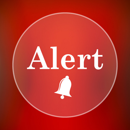 jeopardy: Alert icon. Internet button on red background.
