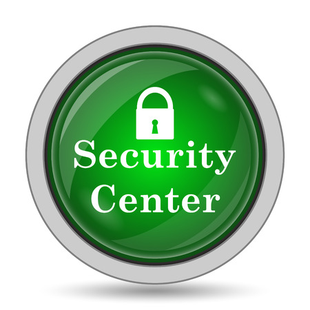 safety net: Security center icon. Internet button on white background.