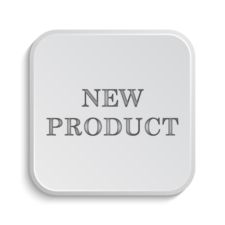 office products: New product icon. Internet button on white background.