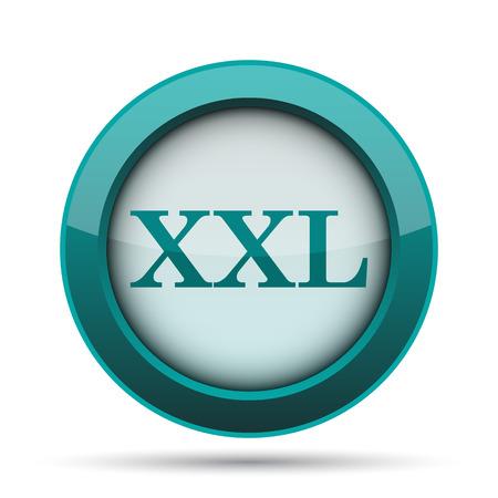 xxl icon: XXL  icon. Internet button on white background. Stock Photo