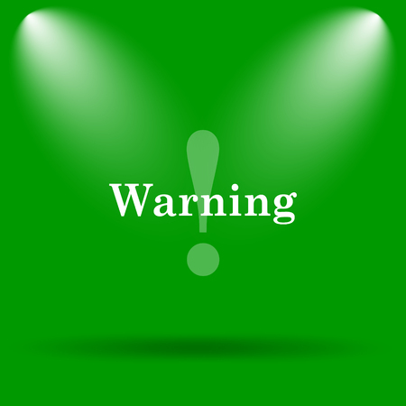 jeopardy: Warning icon. Internet button on green background.