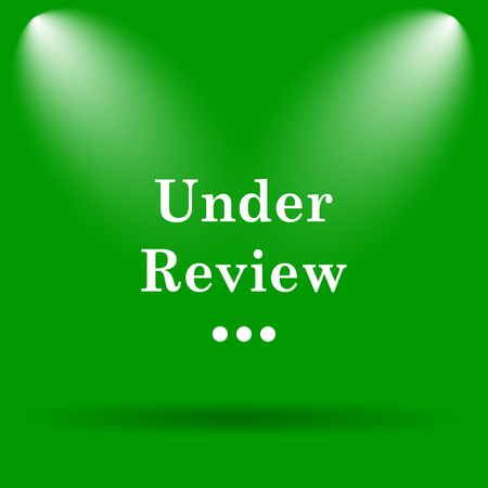 reviewed: Under review icon. Internet button on green background.