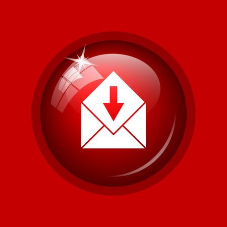 receive: Receive e-mail icon. Internet button on red background.