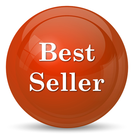 seller: Best seller icon. Internet button on white background. Stock Photo