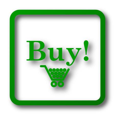 buy icon: Buy icon. Internet button on white background.