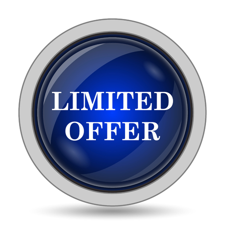 special edition: Limited offer icon. Internet button on white background.