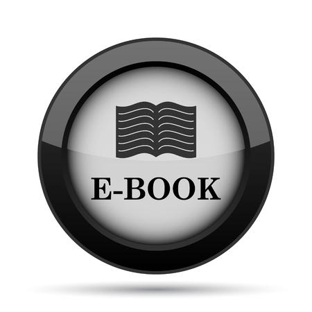 folio: E-book icon. Internet button on white background.