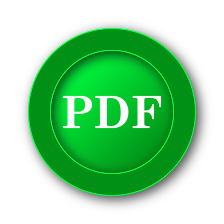 attachment: PDF icon. Internet button on white background.