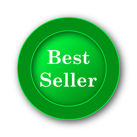 Best seller icon. Internet button on white background. Stock Photo