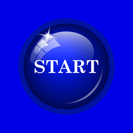 proceed: Start icon. Internet button on blue background.