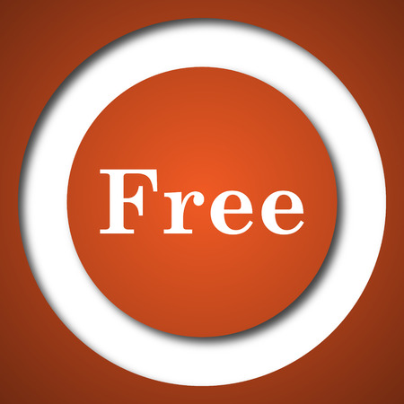 gratuity: Free icon. Internet button on white background.