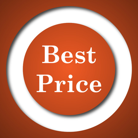 buy now: Best price icon. Internet button on white background.