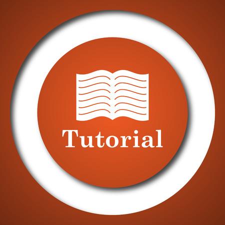 lesson: Tutorial icon. Internet button on white background.
