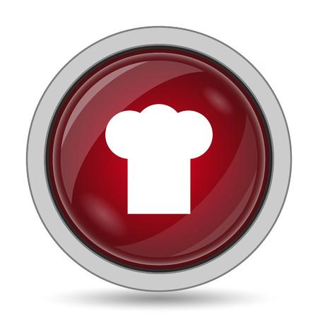 master chef: Chef icon. Internet button on white background.