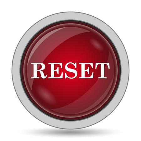 rebuild: Reset icon. Internet button on white background.