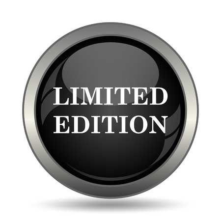 rarity: Limited edition icon. Internet button on white background. Stock Photo