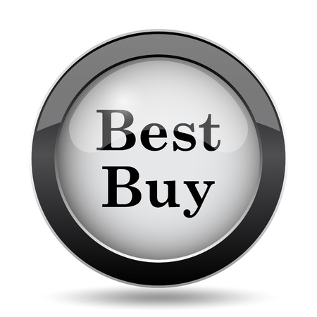 buy icon: Best buy icon. Internet button on white background.