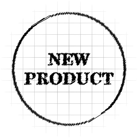 New product icon. Internet button on white background.