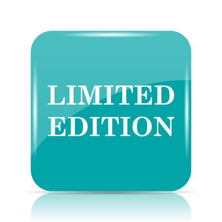 special edition: Limited edition icon. Internet button on white background. Stock Photo
