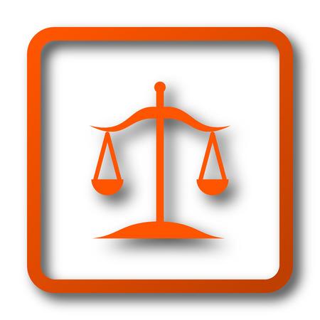 Balance icon. Internet button on white background.