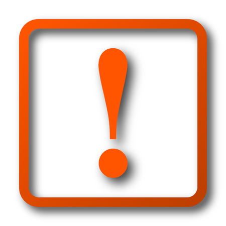 dangerous construction: Attention icon. Internet button on white background.