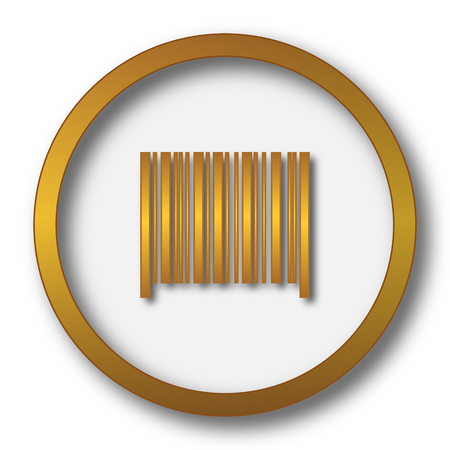 codigos de barra: Barcode icon. Internet button on white background.