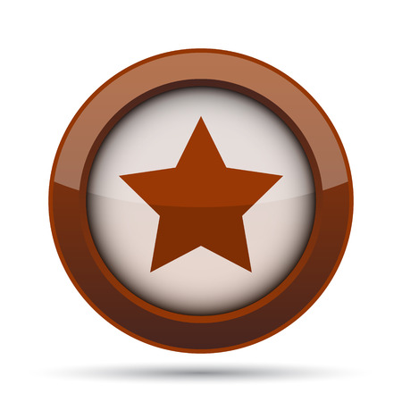 preference: Favorite  icon. Internet button on white background. Stock Photo