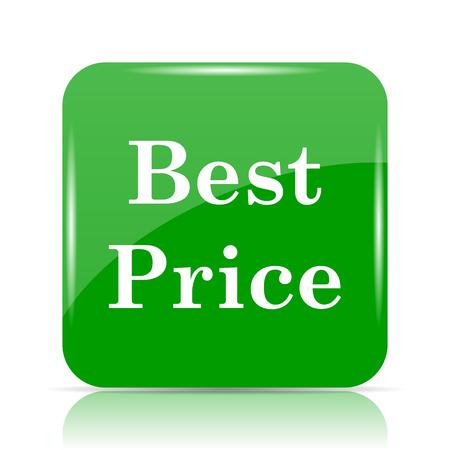 Best price icon. Internet button on white background.
