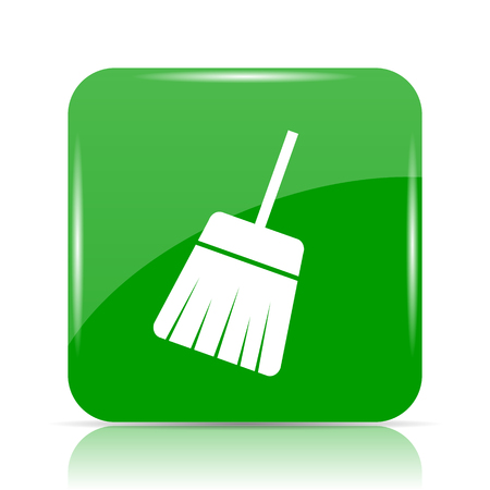 Sweep icon. Internet button on white background.
