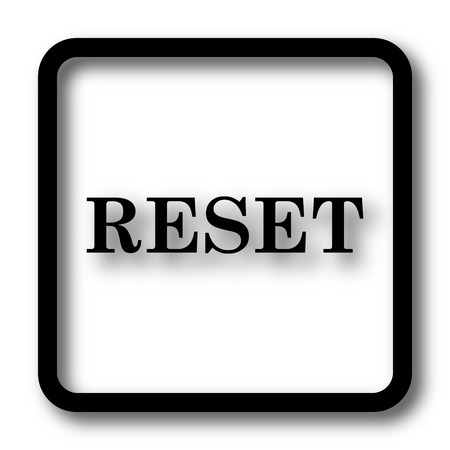 redesign: Reset icon, black website button on white background.