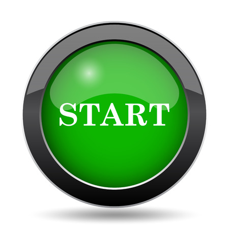 proceed: Start icon, green website button on white background.