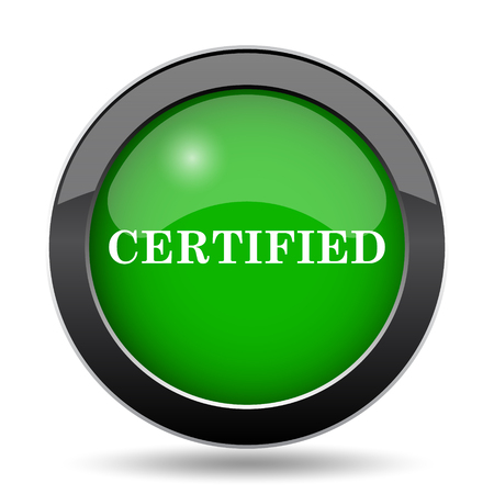 endorsed: Certified icon, green website button on white background.