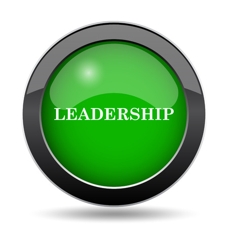 superintendence: Leadership icon, green website button on white background.