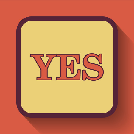 proceed: Yes icon, colored website button on orange background.