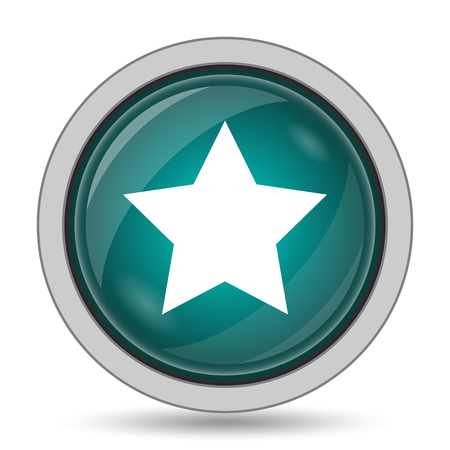 preference: Favorite  icon, website button on white background. Stock Photo